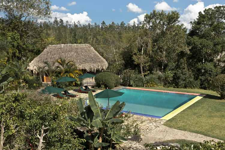 Swimming Pool - Blancaneaux Lodge - Mountain Pine Ridge Reserve