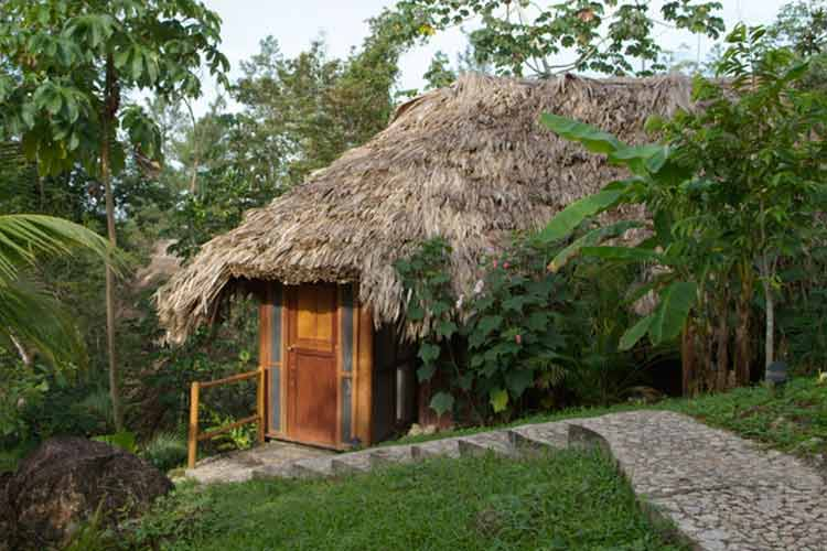 Garden View Cabana - Blancaneaux Lodge - Mountain Pine Ridge Reserve