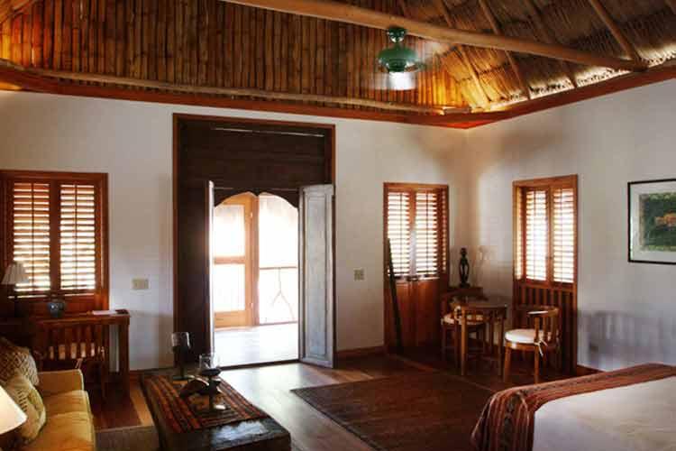 Cottage Interior - Turtle Inn - Placencia
