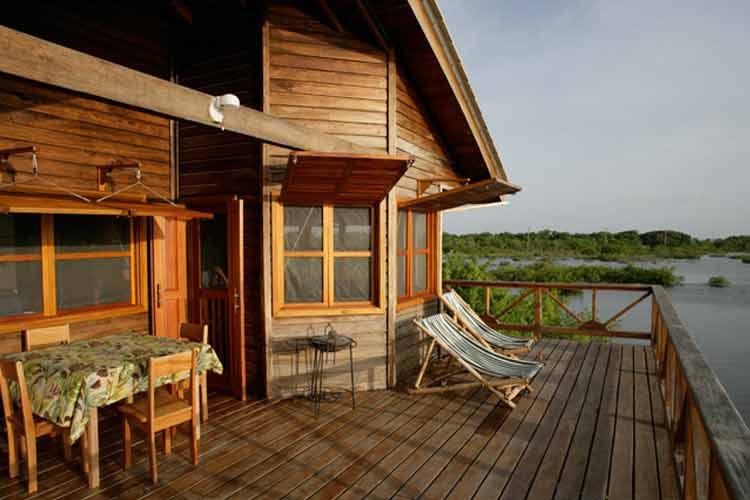 Lagoon Bungalow - Turtle Inn - Placencia