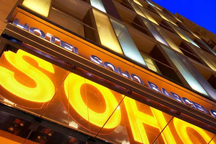 Facade - Hotel Soho - Barcelona