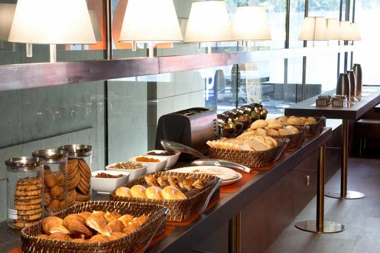 Breakfast - Hotel Soho - Barcelona