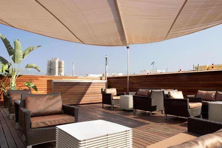 Terrace - Hotel Soho - Barcelona