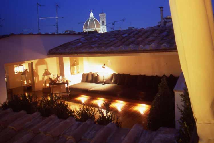 Terrace - JK Place Firenze - Florenz