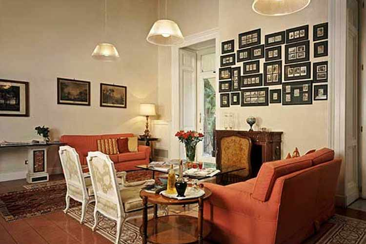 Salon - Hotel Costantinopoli 104 - Neapel
