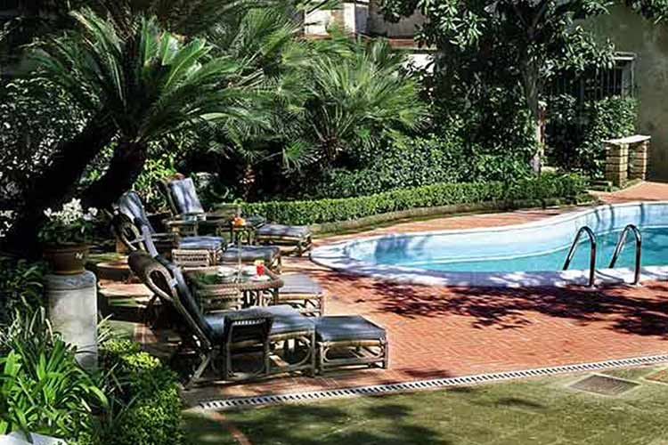 Garden - Hotel Costantinopoli 104 - Neapel
