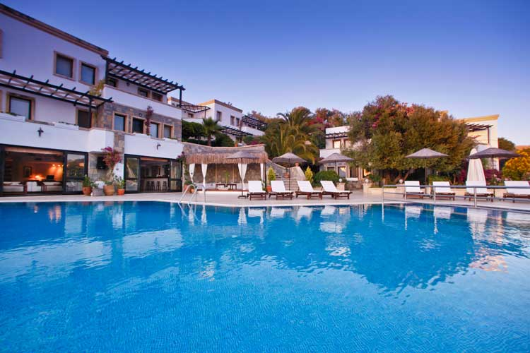 4 reasons hotel bistro ein boutiquehotel in bodrum for Small great hotels
