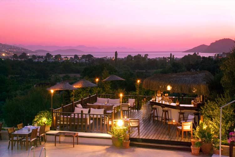 Terrace - 4 Reasons Hotel & Bistro - Yalikavak