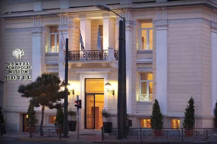 Facade - Acropolis Museum Boutique Hotel - Athens