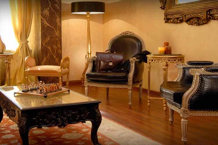 Living Room - Acropolis Museum Boutique Hotel - Athens