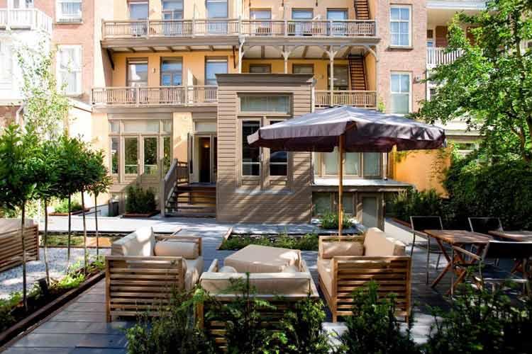 Terrace Garden - Hotel Roemer - Amsterdam