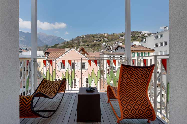 Balcony - Art & Design Boutique Hotel ImperialArt - Merano
