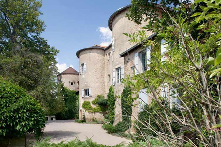 Facade - Château d'Igé - Igé