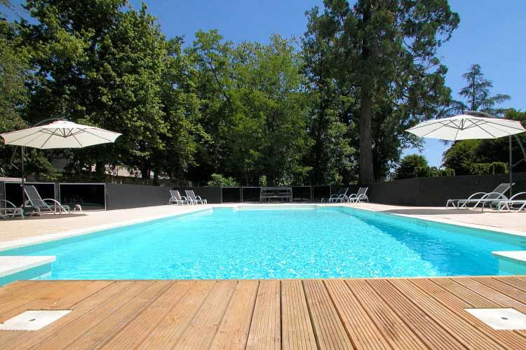 Swimming-Pool - Château de la Couronne - Marthon