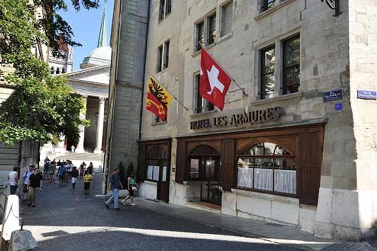 Facade - Hotel les Armures - Genf