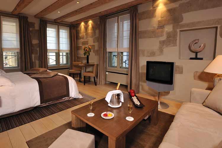 Junior Suite - Hotel les Armures - Genf