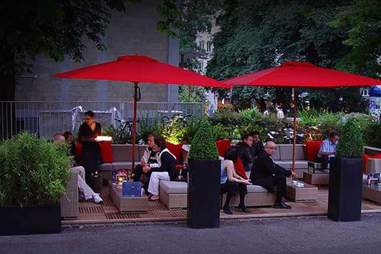 Terrace - The Hotel - Luzern
