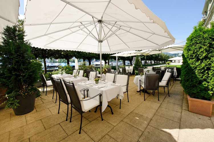 Terrace - Grand Hotel National Luzern - Luzern