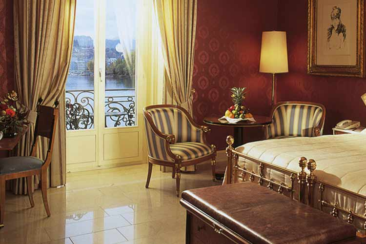 Deluxe Double Room - Grand Hotel National Luzern - Luzern