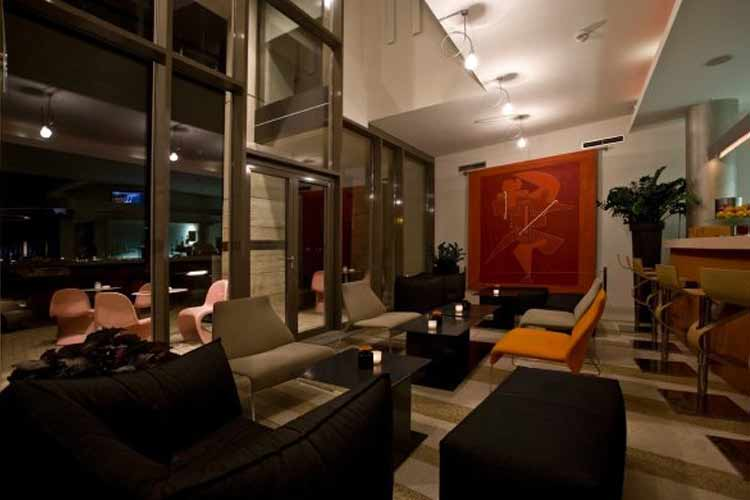 Bar - Lanchid 19 Design Hotel - Budapest