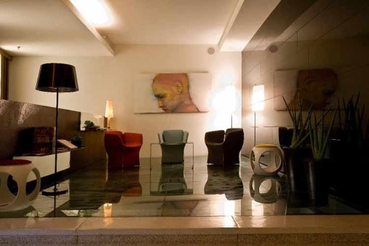 Lobby - Lanchid 19 Design Hotel - Budapest