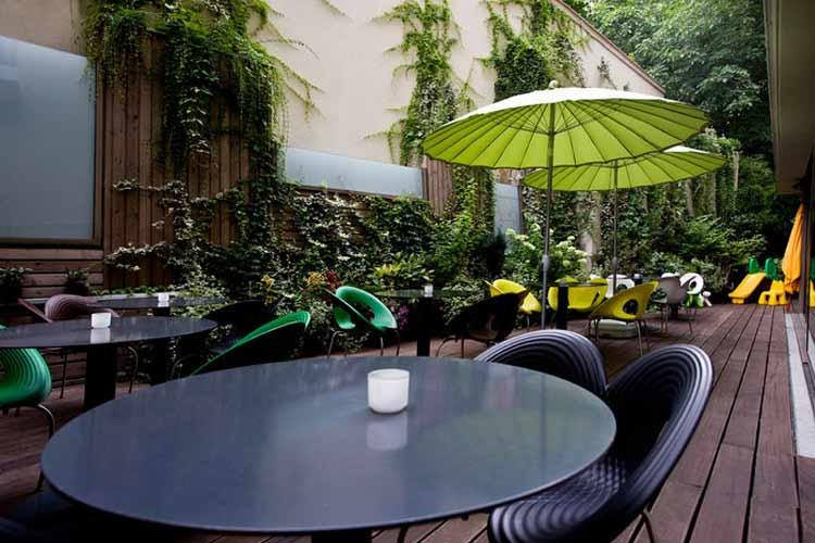 Courtyard - Lanchid 19 Design Hotel - Budapest