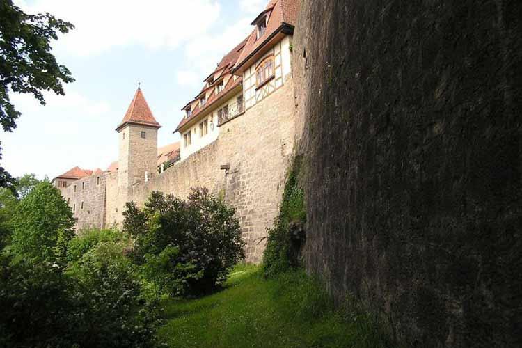 Facade - Burg-Hotel - Rothenburg ob der Tauber