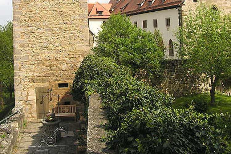 Garden - Burg-Hotel - Rothenburg ob der Tauber