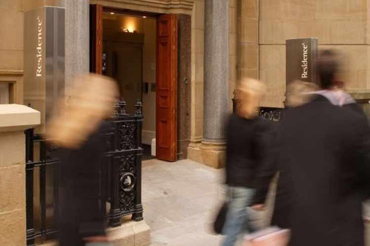 Entrance - Quebecs Luxury Apartments - Leeds