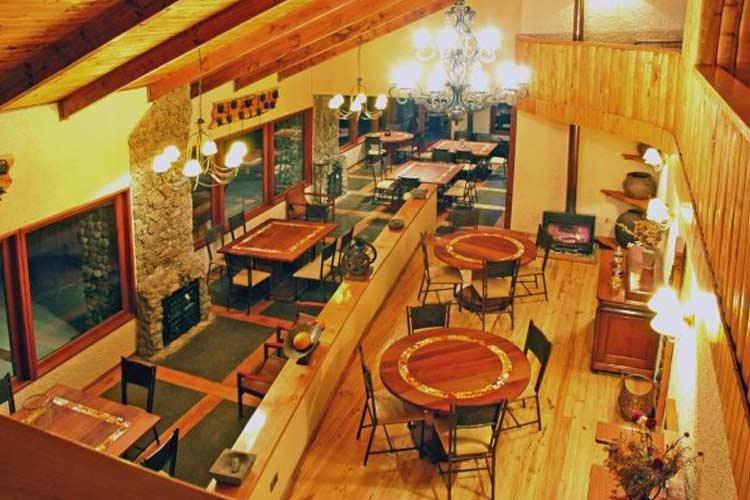Restaurant - Hacienda Tres Lagos - Aisén