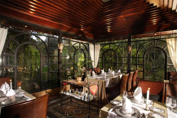 Garden Restaurant - Boutique Hotel Mansion Alcazar - Cuenca