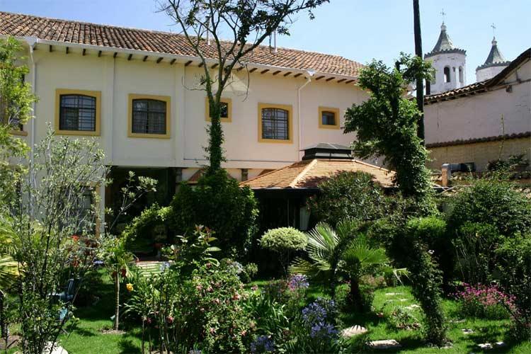 Interior Garden - Boutique Hotel Mansion Alcazar - Cuenca