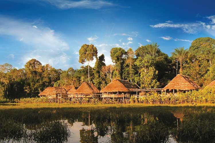 General View - Kapawi Ecolodge - Territorio Achuar
