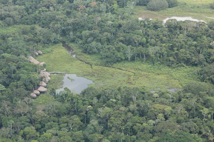 Aerial View - Kapawi Ecolodge - Territorio Achuar