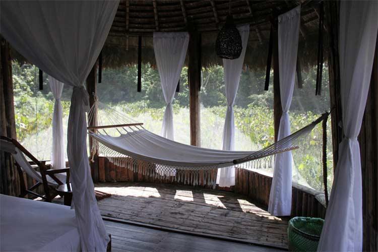 Porch - Kapawi Ecolodge - Territorio Achuar