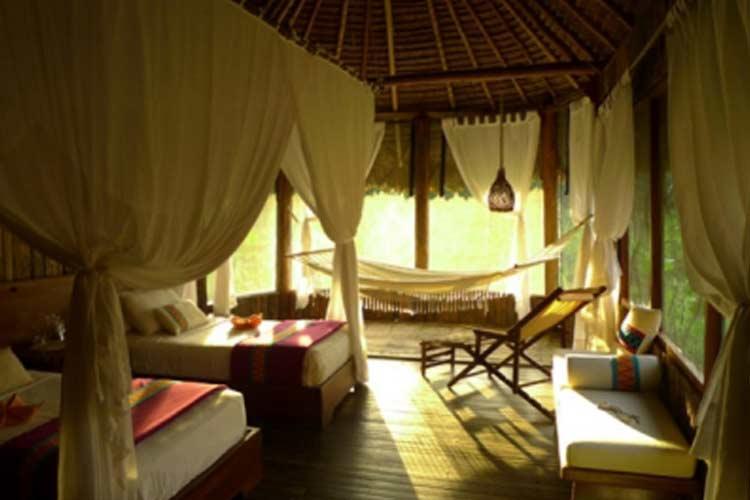 Double Room - Kapawi Ecolodge - Territorio Achuar