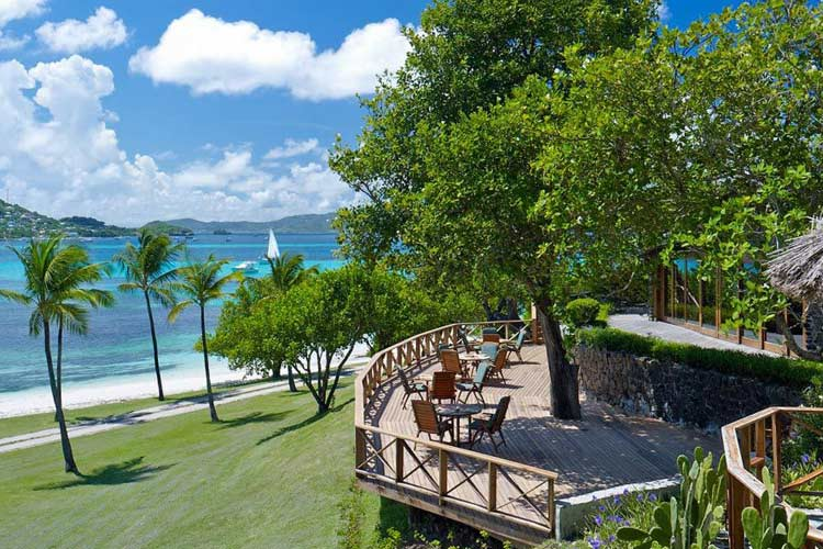 Main Restaurant - Petit Saint Vincent Resort - Petit Saint Vincent