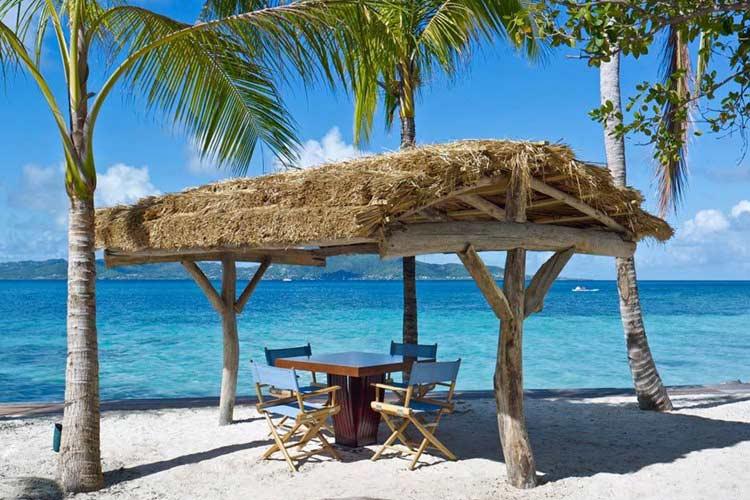 Beach Restaurant - Petit Saint Vincent Resort - Petit Saint Vincent