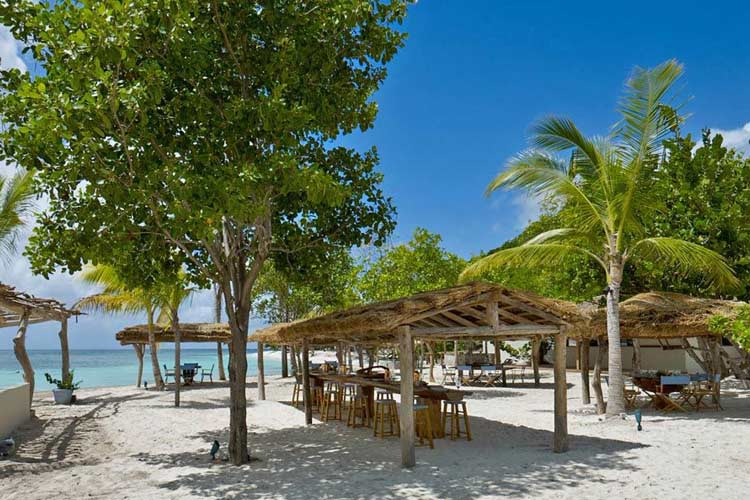 Beach Restaurant - Petit Saint Vincent Resort - Petit Saint Vincent
