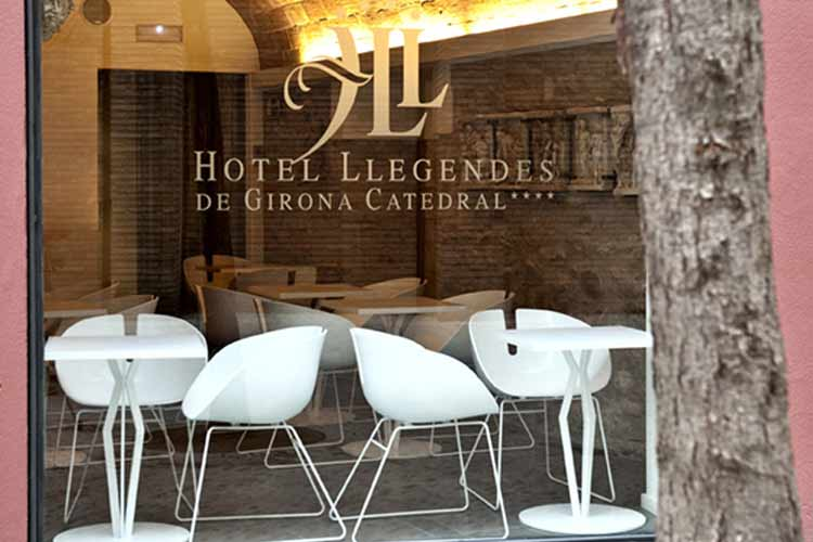 Facade - Hotel Llegendes de Girona Catedral - Girona