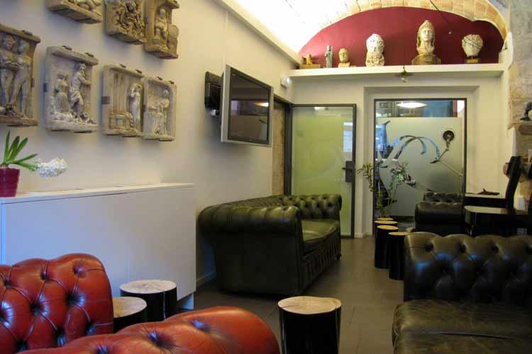 Living Room - Hotel Llegendes de Girona Catedral - Girona