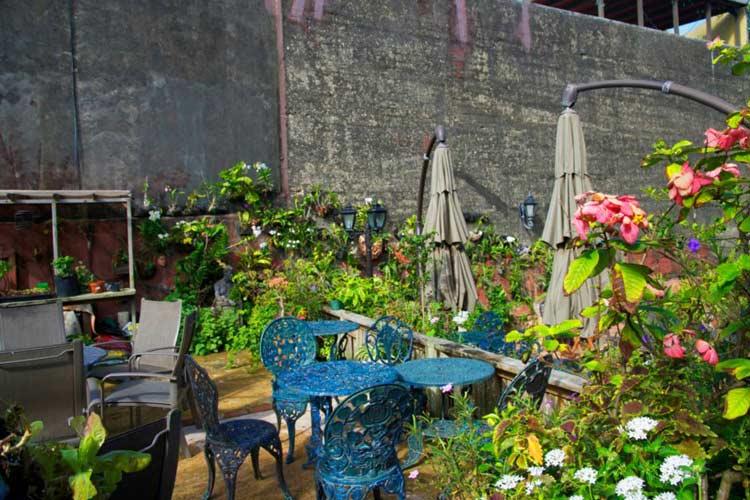 Garden - The Gallery Inn - San Juan