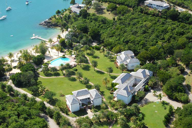 Aerial View - The Inn At English Harbour - Saint John's