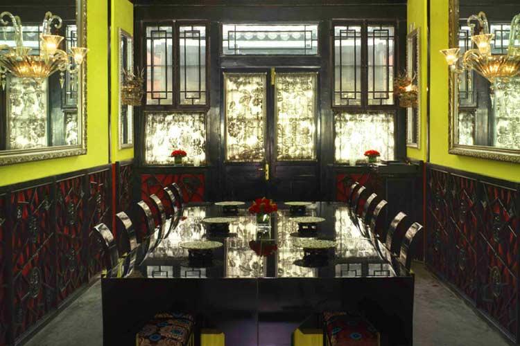 Dining Room - Du Ge Courtyard Boutique Hotel - Beijing
