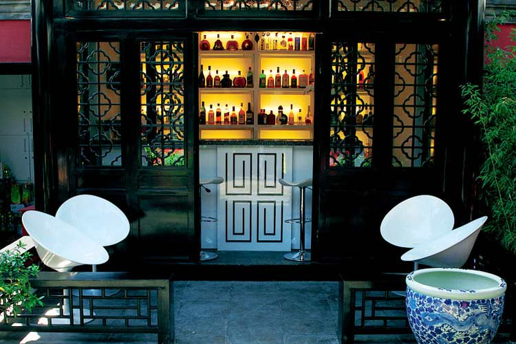 White Rusian Bar - Du Ge Courtyard Boutique Hotel - Beijing
