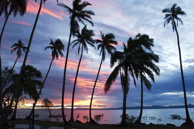 Sunset View - J-M Cousteau Fiji Islands Resort - FIJI