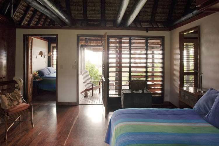 Oceanfront Suite Interior - J-M Cousteau Fiji Islands Resort - FIJI
