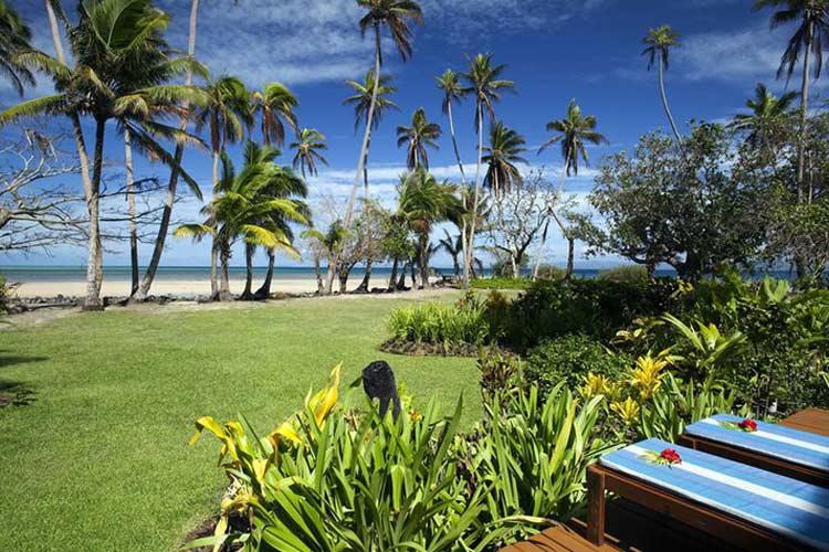 Oceanfront Deck - J-M Cousteau Fiji Islands Resort - FIJI