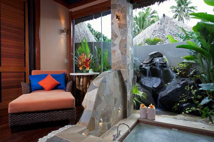The Indoor Spa - J-M Cousteau Fiji Islands Resort - FIJI