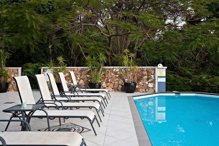 Pool - at Waterfront Whitsunday Retreat - Airlie Beach